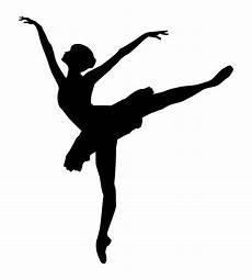 ballet dancer silhouette free stock photo domain