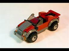 How To Build A Lego Sports Car by Lego Tutorial How To Build Simple 4x4 Sports Car