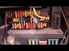 Citroen Berlingo Fuse Box Relay Location