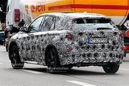 Spyshots Next Generation BMW X1 Scooped Based On UKL1