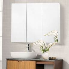 Bathroom Wall Mirror Cabinets 36 quot wide wall mount mirrored bathroom medicine cabinet