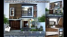 Desain Rumah 2 Lantai 10x11m 4 Ruang Tidur Di Lahan 10x16