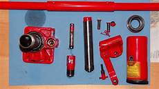 disassembling of a hydraulic how to
