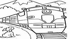 Gambar Kereta Api Kartun Yang Diwarnai Aneka Gambar Gambar