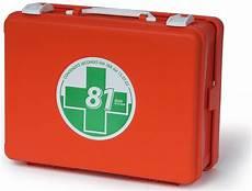 cassetta primo soccorso valigietta vuota arancio di primo soccorso per aziende con