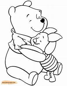 winnie the pooh piglet coloring pages 2 disneyclips