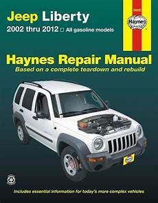 free online car repair manuals download 2009 jeep patriot electronic throttle control jeep liberty service and repair manual 2002 2012 haynes 50035