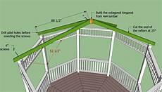 free octagon gazebo roof plans search gazebo roofs projekte haus planer