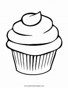 Malvorlagen Cake Cupcake 6 Gratis Malvorlage In Beliebt11 Diverse