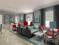 wohnzimmer rot grau grey and living room ideas modern house