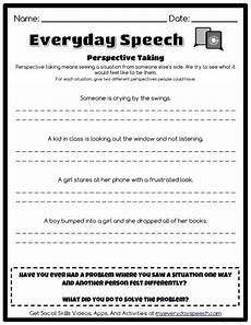 check out the worksheet i just made using everyday speech s worksheet creator perspective
