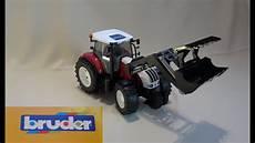 ausmalbild bruder fahrzeuge bruder traktor profi serie steyr cvt 6230 mit frontlader