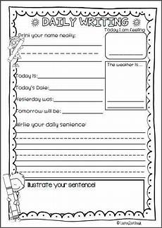 handwriting worksheets for graders 21889 daily writing for kindergarten pre primary grade and second grade grade writing