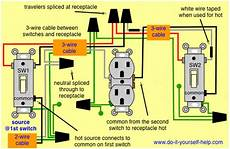 3 Way Switch Wiring Diagrams Do It Yourself Help