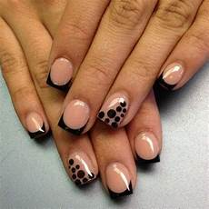 black french acrylic nails nail art styling
