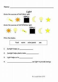 grade 5 science worksheets light 12290 1st 2nd grade light worksheet by struggling learner resources tpt