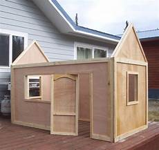 ana white playhouse roof diy projects
