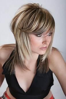 haare halblang frisuren