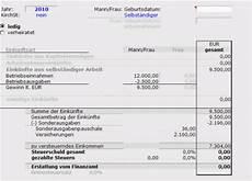 muster zur berechnung der einkommensteuer