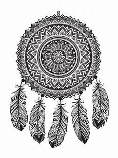 n 16 coloring pages of dreamcatchers
