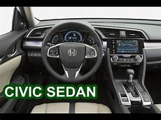 2016 Honda Civic Sedan Interior Multipmedia Technology