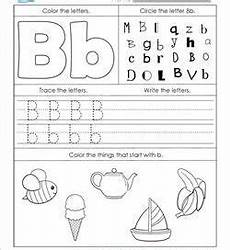 letter b worksheet for kindergarten 23447 alphabet worksheets letter worksheets for kindergarten