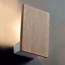 wooden wall light flat with led lights co uk