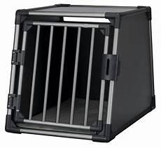 trixie hunde transportbox 1 aluminium s schwarz aluminium