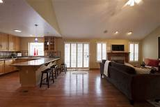 Ideas For Kitchen And Family Room by Stunning 18 Images Kitchen Family Room Designs House