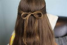 the subtle bow easy hairstyles cute girls hairstyles