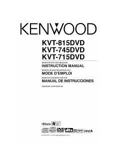 kenwood kvt 815dvd manual