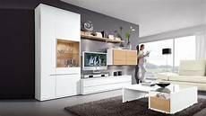 möbel wohnzimmer weiß diese wohnwand loddenkemper bringt moderne eleganz in