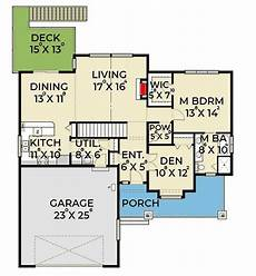 bungalow house plans with walkout basement plan 280019jwd 3 bedroom craftsman house plan with den