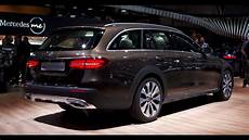 mercedes classe e all terrain mercedes e klasse all terrain autosalon 2016