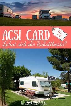 acsi card kaufen acsi card cing lohnt sich die cingkarte acsi