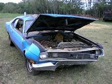 cars in barns 1975 duster first start since 1989 youtube