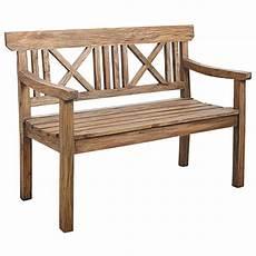 petit banc exterieur banc de jardin bois antique