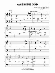 awesome god sheet music direct