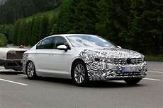 2019 Volkswagen Passat Facelift Spied In China Without