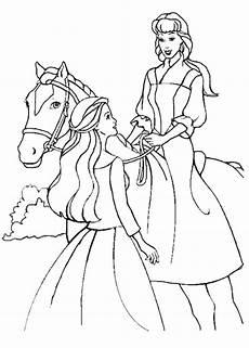 Malvorlagen Prinzessin Mit Pferd Malvorlage Prinzessin Pferd Kinder Ausmalbilder