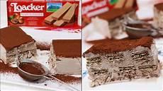 dolce con i wafer tronchetto con wafer solo 4 ingredienti ricetta facile di carmy youtube