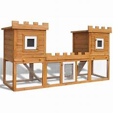 gabbia per conigli fai da te gabbia due casette per conigli da esterno grande