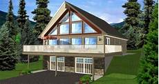 a frame house plans with walkout basement lovely a frame house plans with walkout basement new