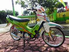 Modifikasi Motor Shogun 110 by Modifikasi Motor Suzuki Shogun 110 Cc Thecitycyclist