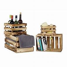 Zeller 15132 Aufbewahrungs Kiste Holz Vintage Wei 223 39 X
