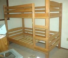 Bett Bauen Einfach - simple bunk bed plans bed plans diy blueprints