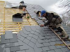 entretien toiture ardoise dam 234 me couverture neuve ou en restauration pose