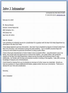 police officer cover letter sle cover letter for resume cover letter sle resume