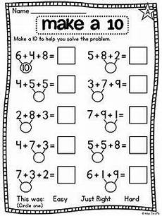 1st grade math worksheet adding 3 numbers grade math unit 12 adding 3 numbers grade