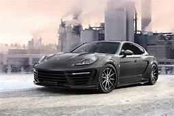 Porsche Panamera Turbo S Stingray GTR Top Car 2018 – Black